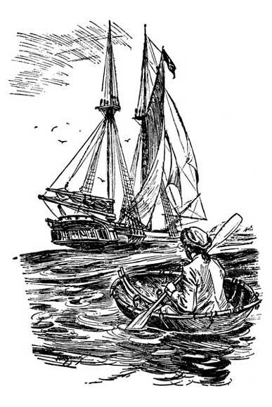 теме иллюстрации к произведению остров сокровищ рубрике